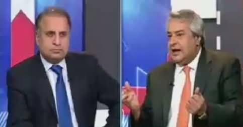 Muqabil (Nadeem Afzal Chan Joins PTI) – 19th April 2018