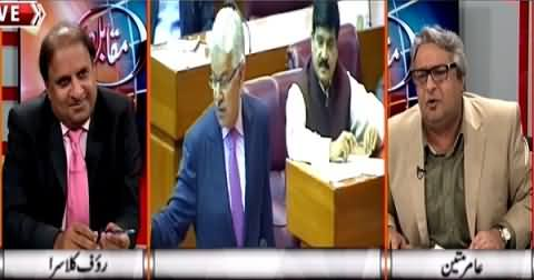 Muqabil (Unexpected Reception of PTI in Parliament) – 6th April 2015