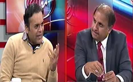 Muqabil (Rauf Klasra,  Kashif Abbasi & Khawar Ghumman) - 27th February 2015