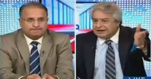 Muqabil (Shahbaz Sharif's Clapping in Press Conference) – 24th January 2018