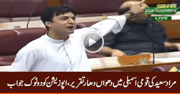 Murad Saeed Aggressive Speech in National Assembly - 29th July 2019