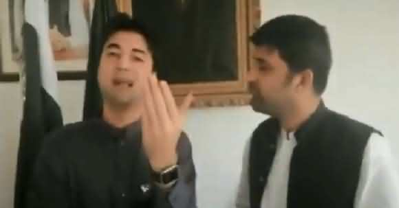 Murad Saeed Challenges Maulana Fazlur Rehman To Contest In Election