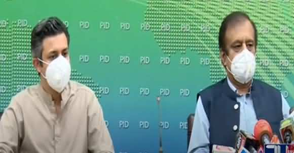 Murad Saeed, Hammad Azhar, Shibli Faraz Budget Press Conference - 28 June 2020