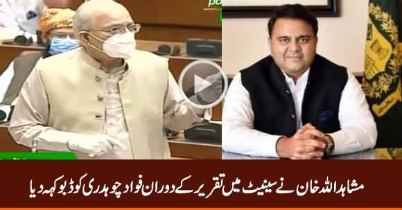 Mushahid Ullah Khan Calls Fawad Chaudhry