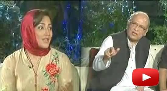 مسلم لیگ (ن) کا مشاہد اللہ خان میراثی نکلا۔ عاصمہ شیرازی کے پروگرام میں پول کھل گیا