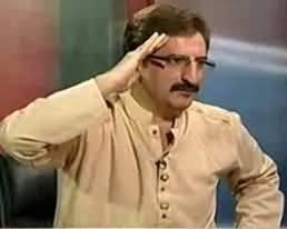 Mushtaq Minhas Salutes Imran Khan in Live Bolta Pakistan Show