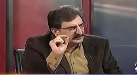 Mushtaq Minhas Using Very Bad Language For Dr. Tahir ul Qadri on Ending His Dharna