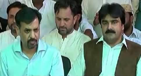 Mustafa Kamal Press Conference After MQM's Ashfaq Manghi Joins Him – 18th April 2016