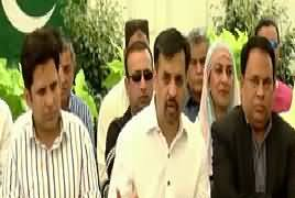 Mustafa Kamal Press Conference in Karachi – 8th April 2018