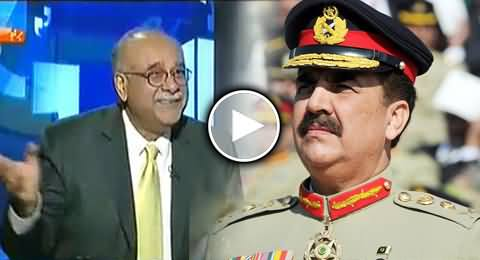 My Sparrow (Chirya) Easily Enters in PM House But Never Enters in Army Chief House - Najam Sethi