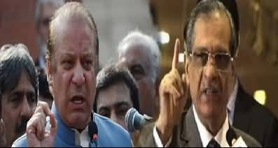 NAB Needs To Investigate How Saqib Nisar Became Chief Justice – Says Nawaz Sharif