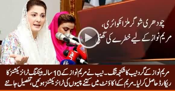 NAB Obtains Ten-Year Record of Maryam Nawaz's Bank Accounts