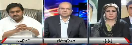 Nadeem Malik Live (Army Should Not Be Dragged in Elections - DG ISPR) - 4th June 2018
