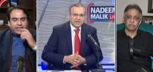 Nadeem Malik Live (Chairman Senate Election) - 9th March 2021