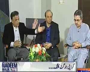 Nadeem Malik Live (Dead Bodies in Karachi) - 27th January 2014