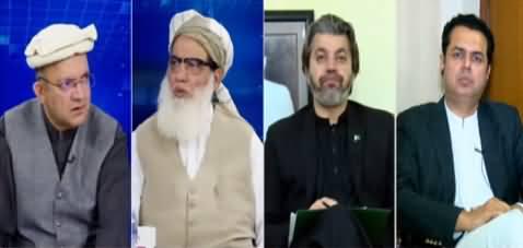 Nadeem Malik Live (Fazlur Rehman Ka Azadi March) - 8th October 2019