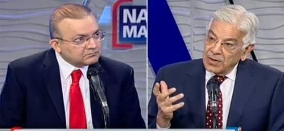 Nadeem Malik Live (Khawaja Asif Exclusive Interview) - 24th August 2021