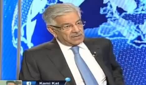 Nadeem Malik Live (Khawaja Asif Exclusive Interview) - 24th November 2016