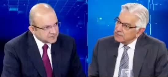Nadeem Malik Live (Khawaja Asif Exclusive Interview) - 30th October 2018