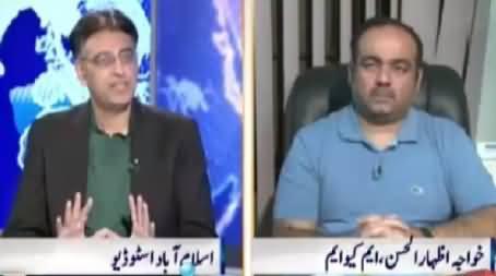 Nadeem Malik Live (MQM Back To Parliament) – 5th November 2015