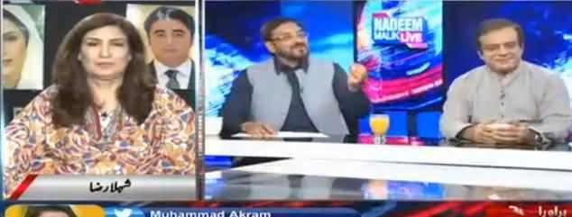 Nadeem Malik Live (Musharraf Ghaddari Case) - 13th May 2018