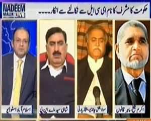 Nadeem Malik Live (Musharraf Will Go to Court on ECL Issue) - 2nd April 2014
