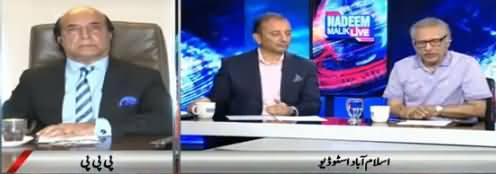 Nadeem Malik Live (Nawaz Sharif Ki PTI Per Tanqeed) - 16th May 2018