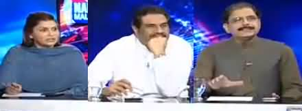 Nadeem Malik Live (Nawaz Sharif's Controversial Statement) - 15th May 2018