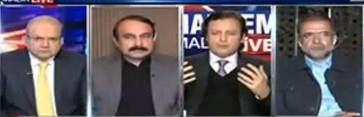 Nadeem Malik Live (PMLN Ke Adlia Per Waar) - 31st January 2018