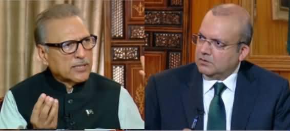 Nadeem Malik Live (President Arif Alvi Exclusive Interview) - 29th August 2019