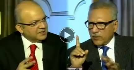 Nadeem Malik Live (President Arif Alvi Exclusive Interview) - 29th October 2018