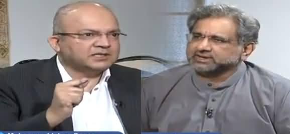 Nadeem Malik Live (Shahid Khaqan Abbasi Exclusive Interview) - 12th June 2018