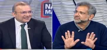 Nadeem Malik Live (Shahid Khaqan Abbasi Exclusive Interview) - 17th March 2020