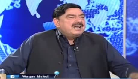 Nadeem Malik Live (Sheikh Rasheed Ahmad Exclusive Interview) - 17th October 2016
