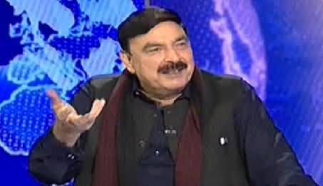Nadeem Malik Live (Sheikh Rasheed Ahmad Exclusive Interview) - 24th November 2014