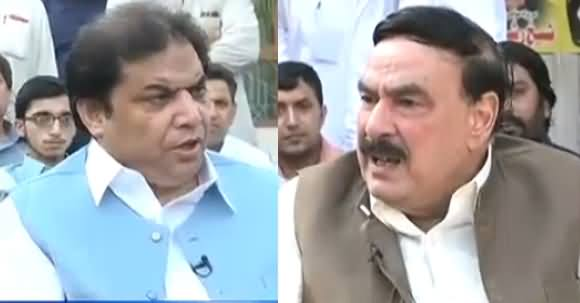 Nadeem Malik Live (Sheikh Rasheed Vs Hanif Abbasi) - 20th June 2018