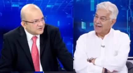 Nadeem Malik Live (Special Talk With Khawaja Asif) - 21st May 2019