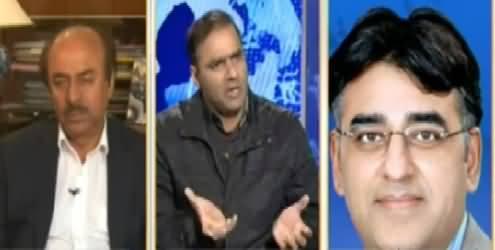 Nadeem Malik Live (Where is PMLN's Experienced Team) - 26th January 2015