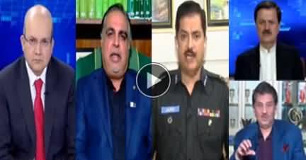 Nadeem Malik Live (Zardari, Nawaz Sharif Future) - 25th March 2019