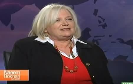 Naeem Bokhari Ke Saath (American Lady Rita Akhtar Interview in Urdu) – 5th December 2014