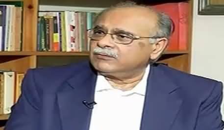 Najam Sethi Bashing PTI & Imran Khan For Doing 35 Puncture Propaganda