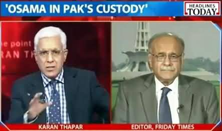 Najam Sethi Complete Interview with Indian Tv Channel About Osama Bin Laden Controversy