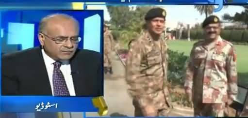 Najam Sethi Hints That Army Is Going to Impose Governor Rule in Sindh