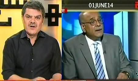 Najam Sethi Praising Indian Agency RAW and Blaming ISI - Mubashir Luqman Reveals