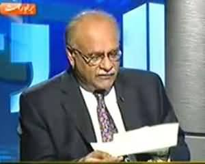 Najam Sethi Reply To MQM On 10 Billion Rupees Defamation Notice Sent to Him