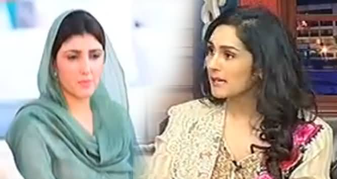 Najam Sethi's Daughter Meera Sethi Doing Mimicry of Ayesha Gulalai