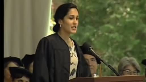 Najam Sethi's Daughter's Speech As Student At Wellesley College, America