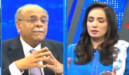 Najam Sethi Show (Inflation, IMF, DG ISI Appointment) - 19th October 2021