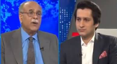 Najam Sethi Show (Video Scandal, Maryam Nawaz Jalsa) - 8th July 2019