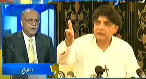 Najam Sethi Telling the Inside Story of Difference Between Chaudhry Nisar and Nawaz Sharif
